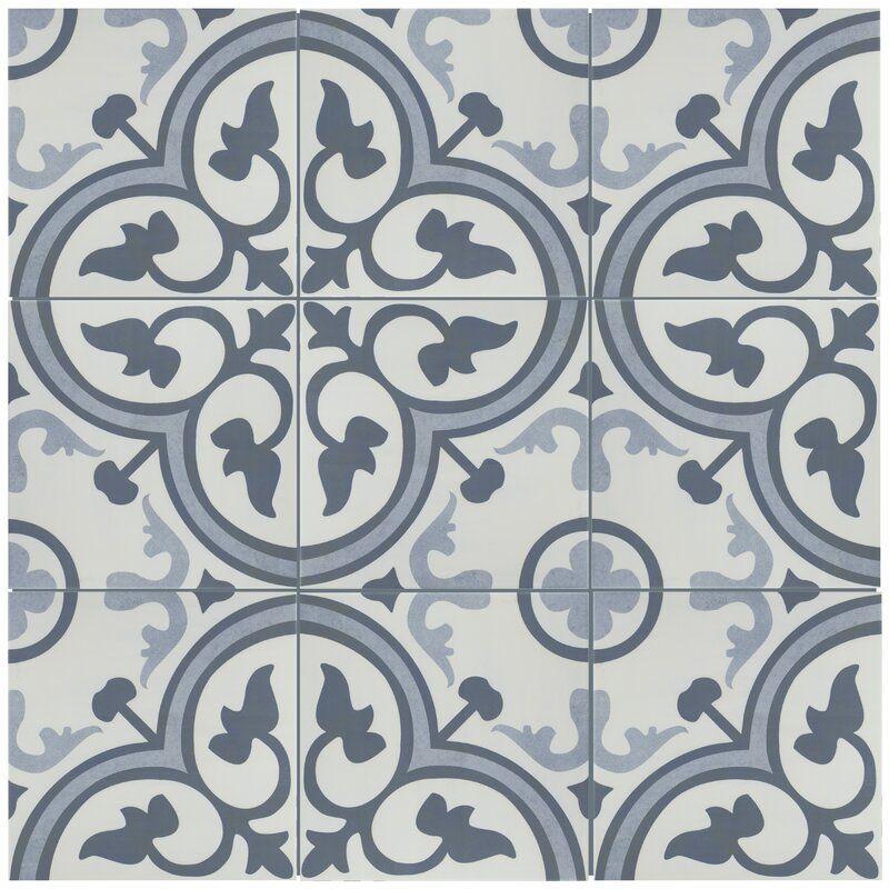 Elitetile Mora 12 38 X 12 38 Ceramic Field Tile Wayfair