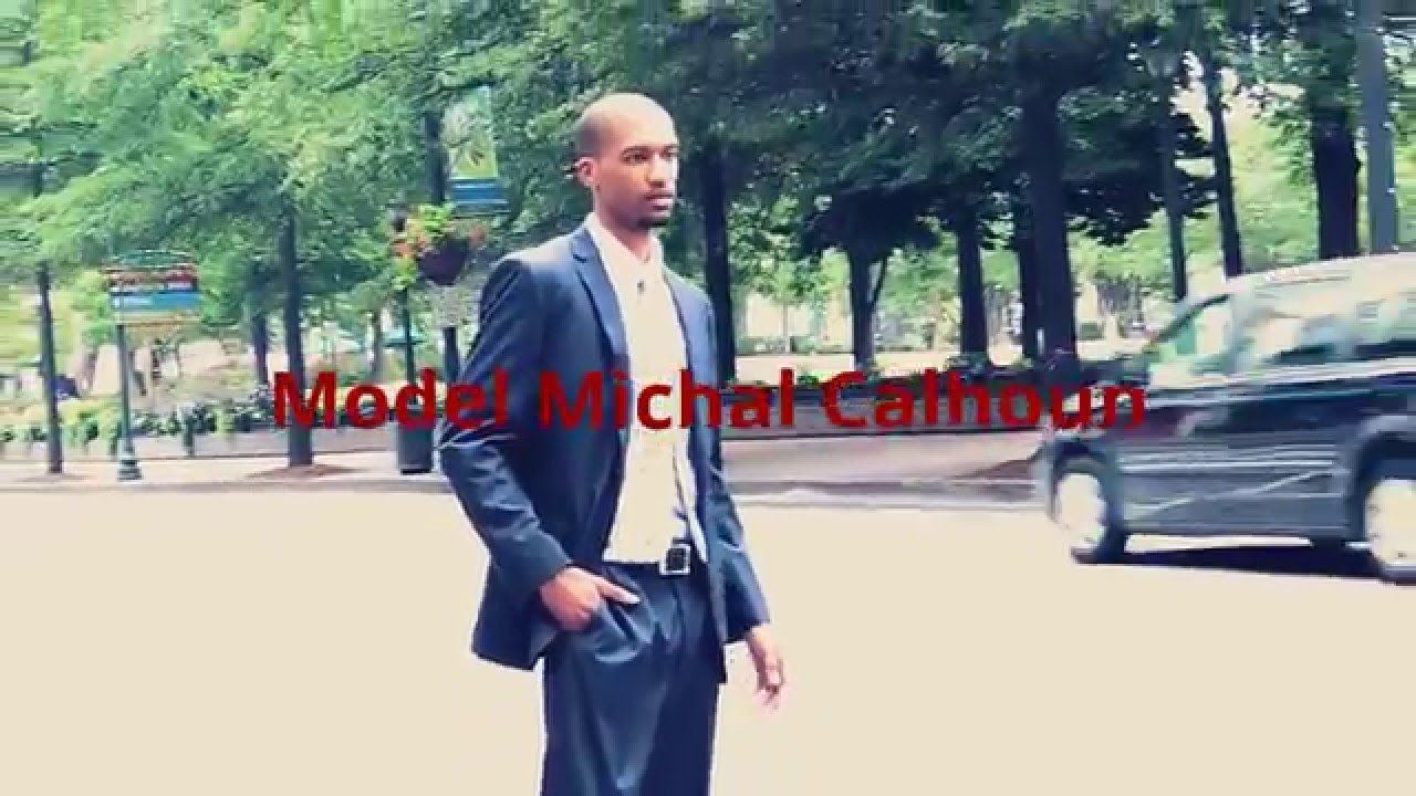 Marion G. Boyd on location with UUSS clothing and model Michal Calhoun