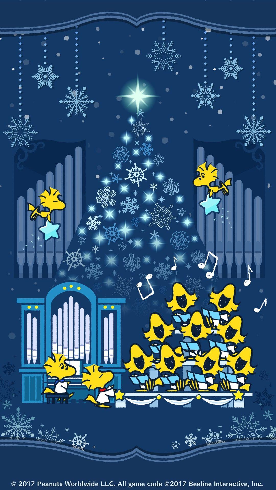 Snoopy スヌーピー 聖歌隊 スヌーピー クリスマスの壁紙