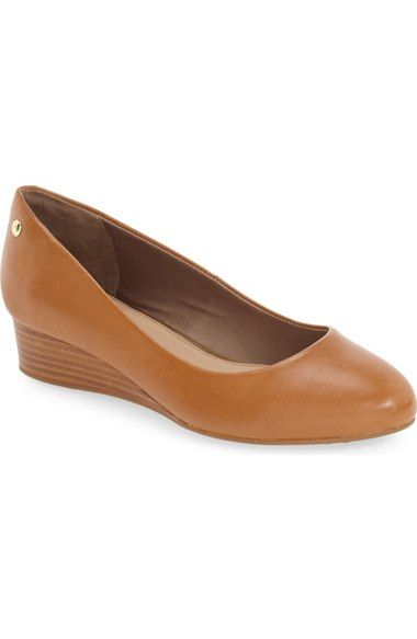Hush Puppies® 'Dot Admire' Wedge Pump (Women) available at #Nordstrom
