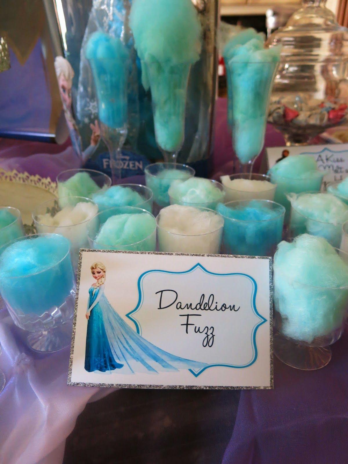 Purple Chocolat Home Elsa S Frozen Party Tablescape Table Setting