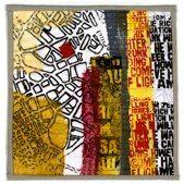 "Jette Clover: City Center 12 12""x12"" (30x30 cm)"