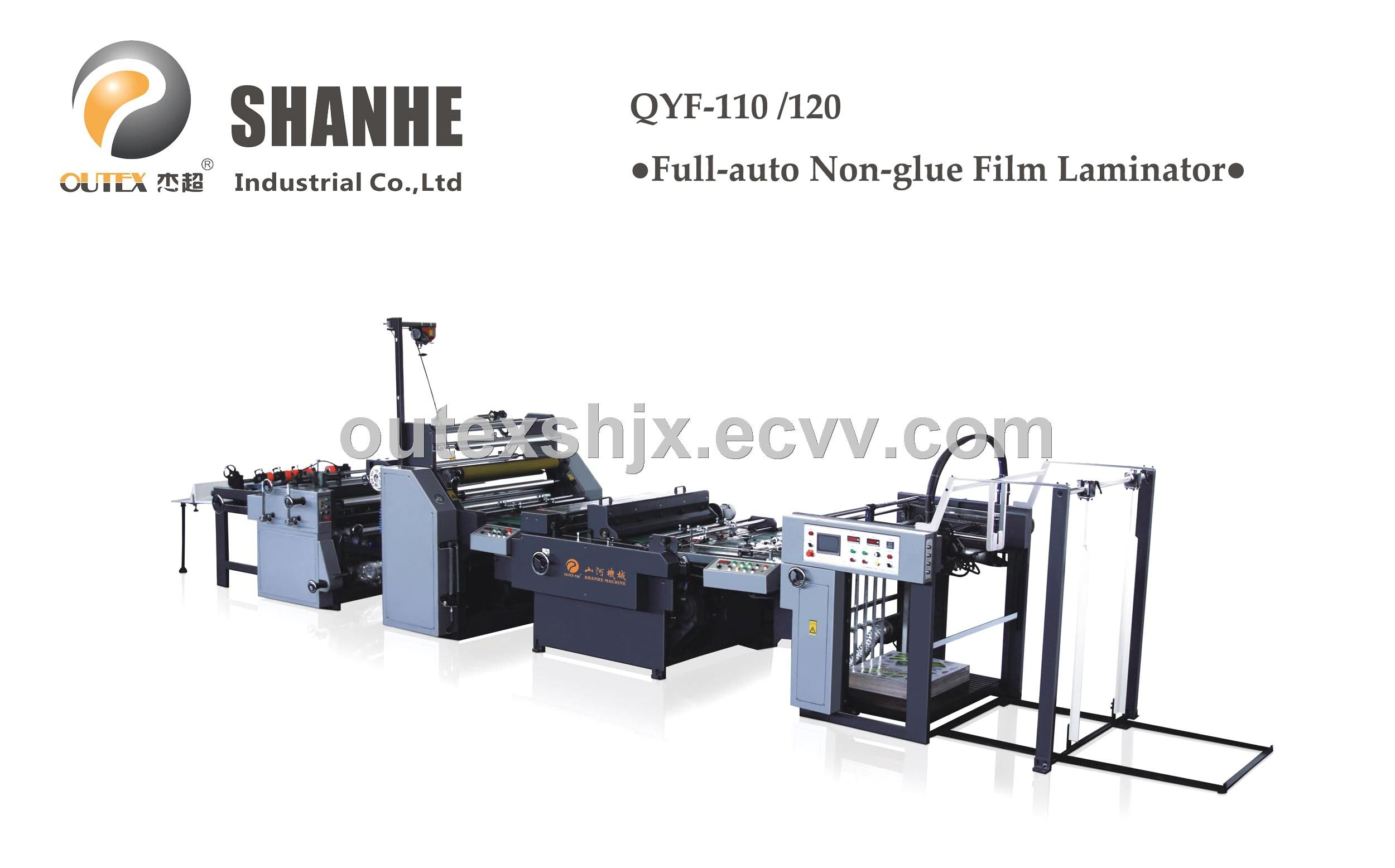 Qyf 110 120 Full Auto Non Glue Film Lamination Machine Qyf 110 120 China Laminator Laminating Machine Lamination Machine Manufacturing Laminators Shantou