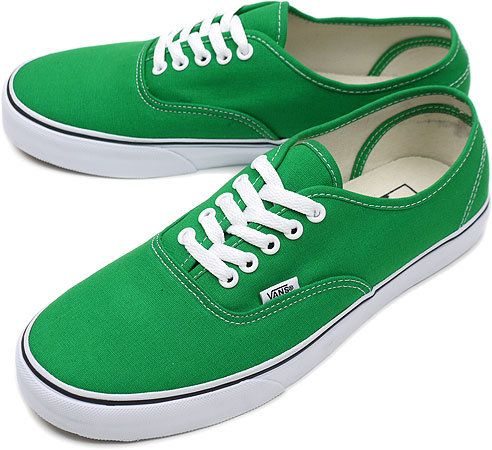 vans verdes hombre