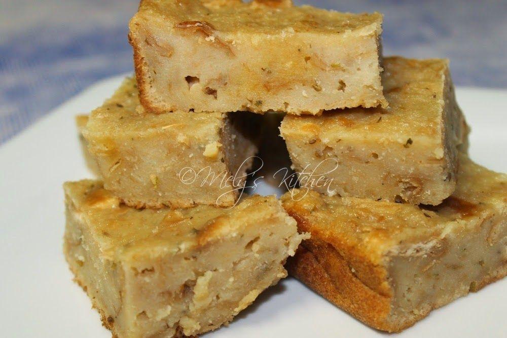 Resep Puding Roti Tawar tape