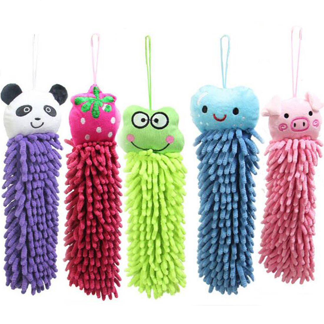 Cute Kitchen Towel Hanging Microfiber Soft Hand Towels Kids Enjoy Clean And  Dry Hands For Kitchen