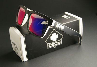 e3febddf202 New Spy Optic Helm Sunglasses Whitewall Frame w Navy Spectra Lenses