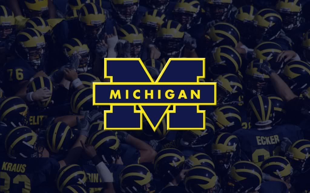 Image Result For Michigan Football Desktop Wallpaper Michigan Football Michigan Wolverines Football Michigan
