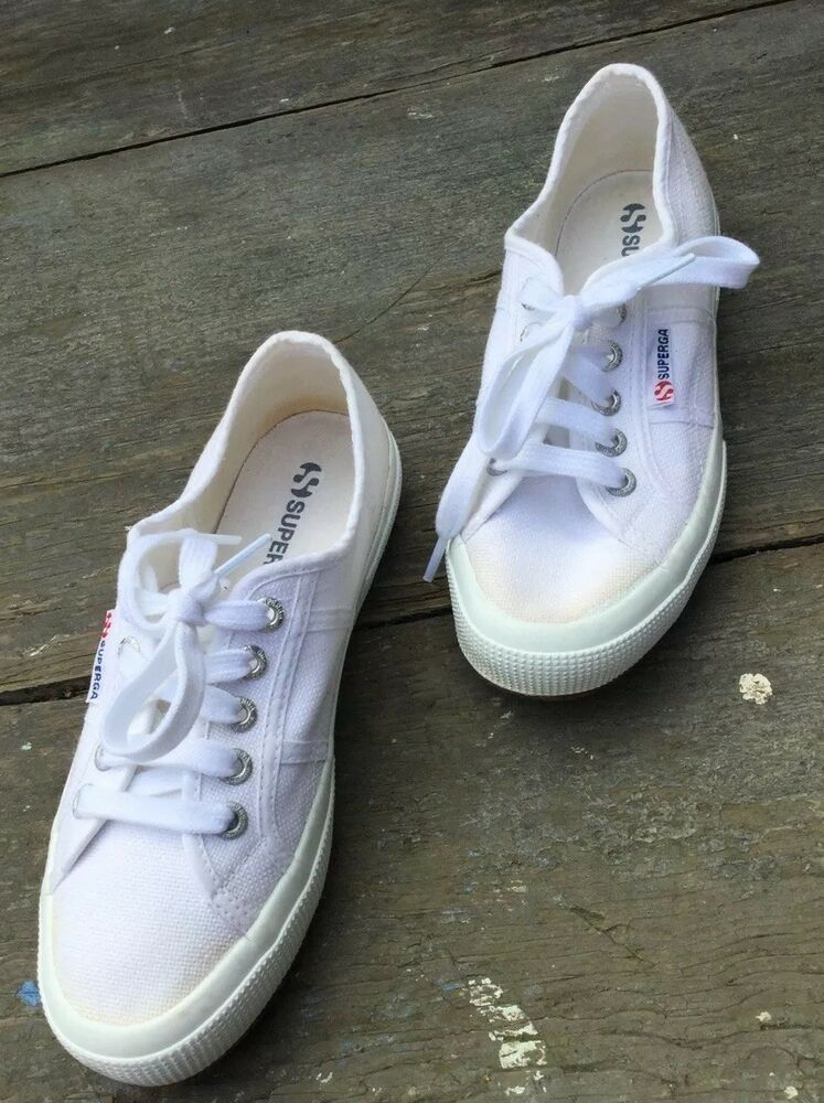 95f10ac0068 Superga Cotu Classic Women White EU 36 M4 1 2 W 6  fashion  clothing  shoes   accessories  womensshoes  athleticshoes (ebay link)