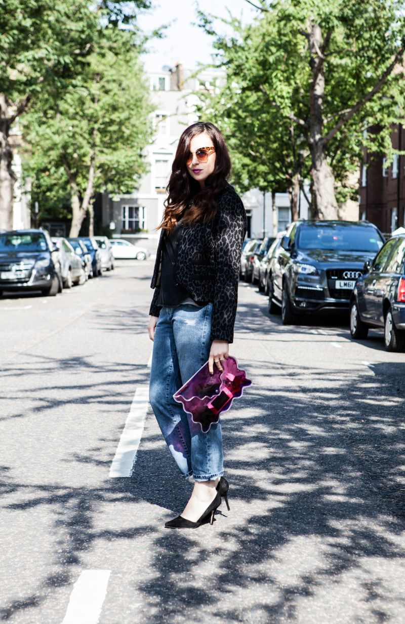 """Mademoiselle Robot: What I Wore - MiH Jeans """"The Jane"""" (Part 1) #denim"""