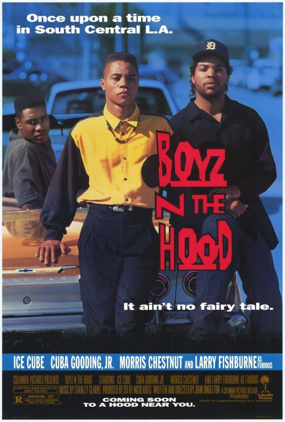 Boyz N The Hood 27x40 Movie Poster 1991 Posters De Filmes
