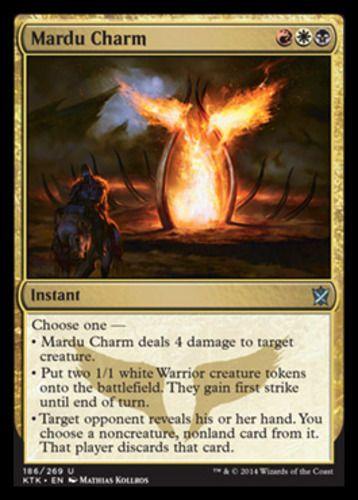 FOIL ABZAN CHARM Khans Of Tarkir KTK Magic MTG MINT CARD