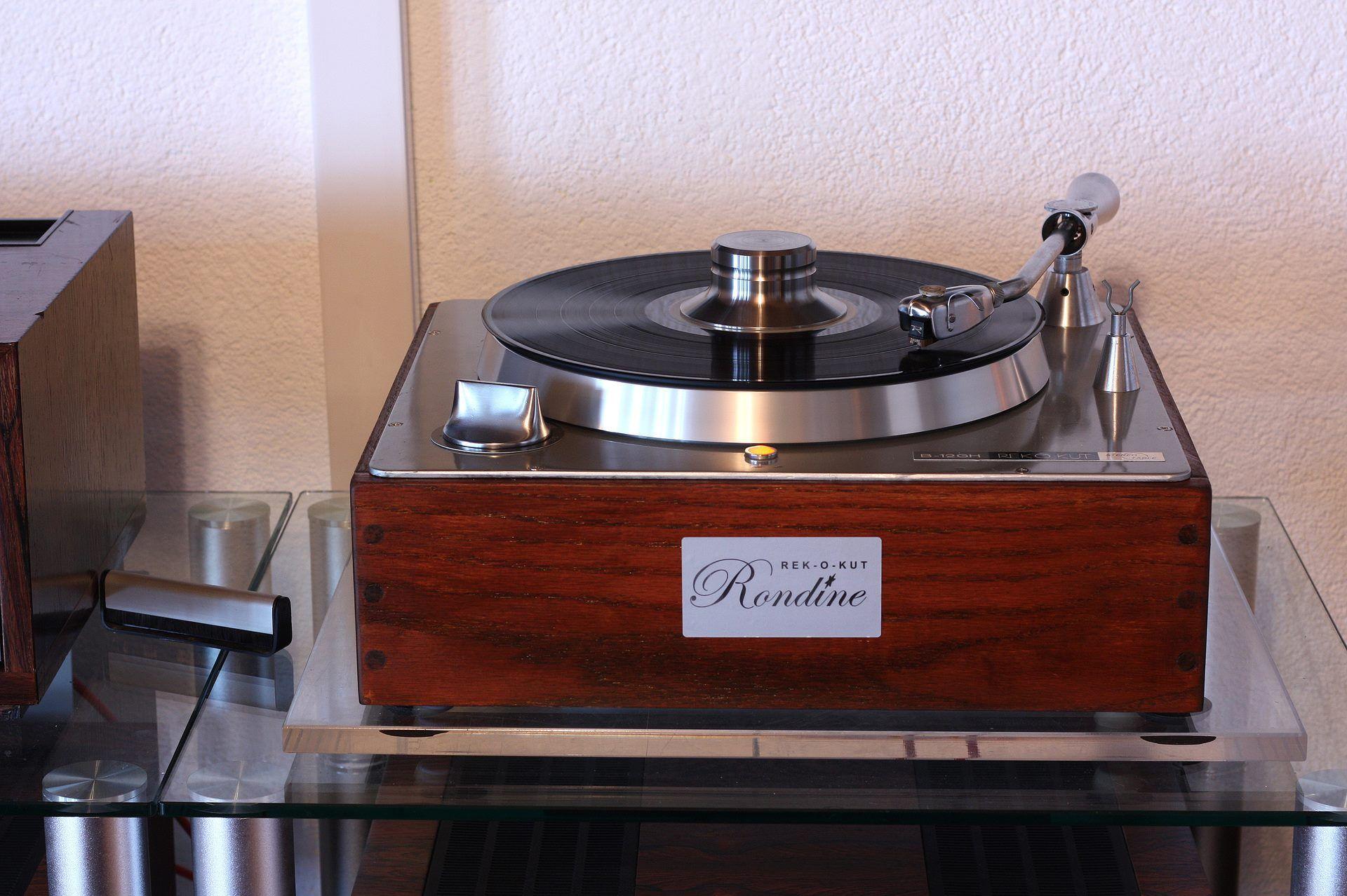 Record Player 1961 Rek O Kut B 120H Turntable