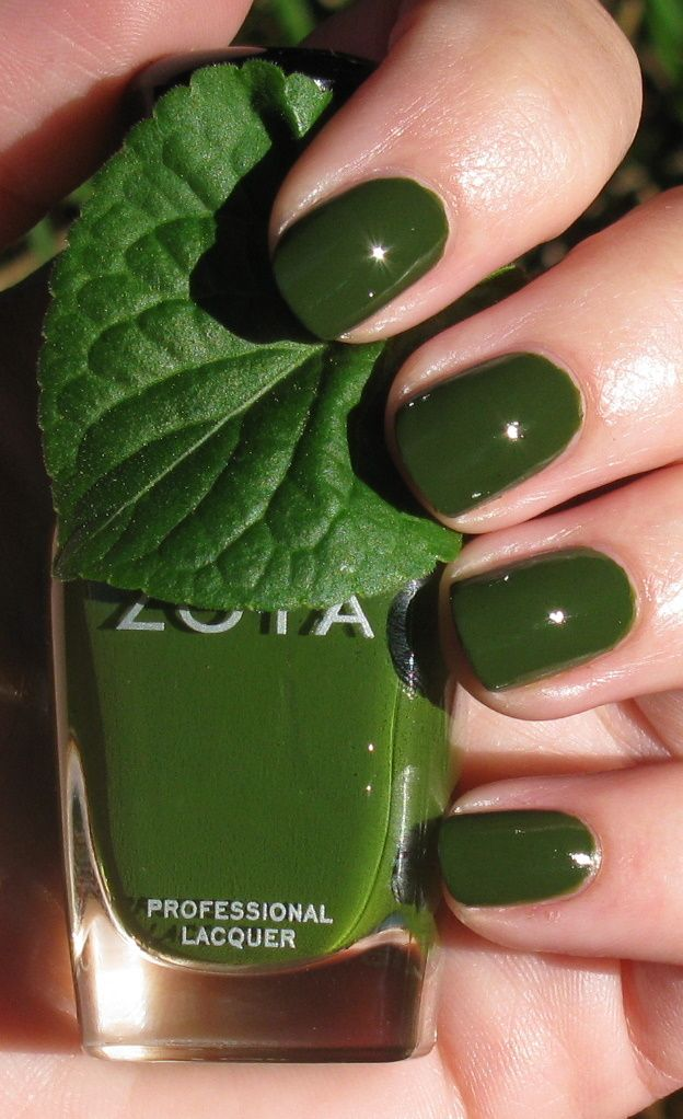 Just got this green for free from Zoya for ordering two other colors ...