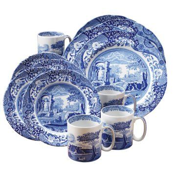 Blue and White Toile Dinnerware Sets | Home Designs Project  sc 1 st  Pinterest & Blue and White Toile Dinnerware Sets | Home Designs Project | silken ...