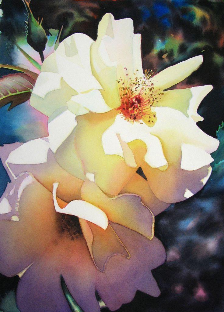 Guy Magallanes watercolor magnolias