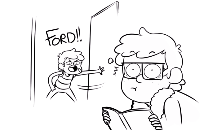 Stan and Ford 1 // http://notllorstel.tumblr.com/tagged/stanford-pines