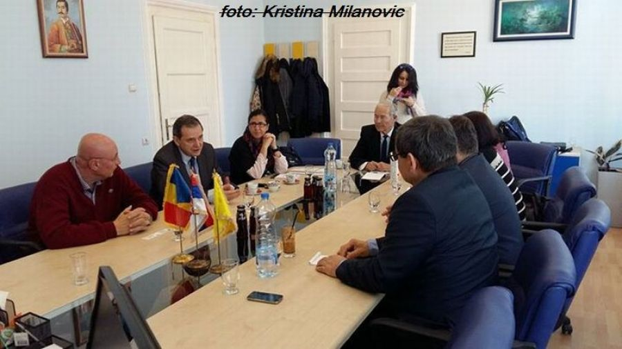 Vizita europarlamentarului Marian Jean Marinescu la Kladovo
