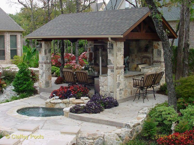 Pool House Cabana Design | Outdoor Living Cabanas | Custom ...