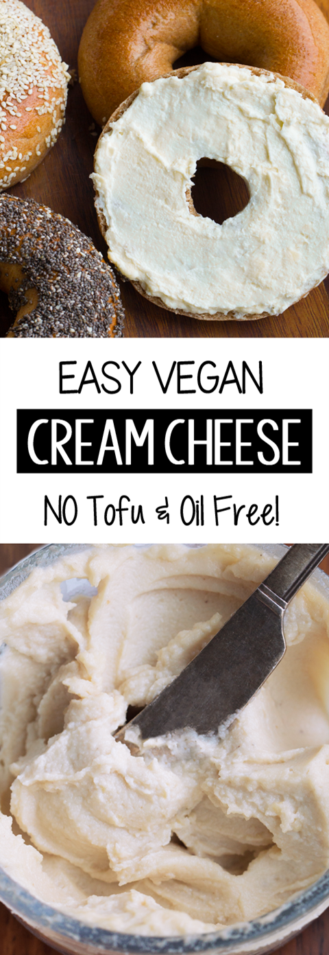 Vegan Cream Cheese - FOUR Flavors & NO Tofu!