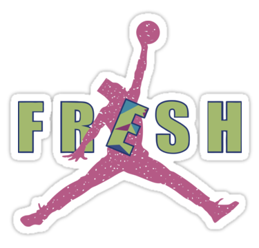 A Remake Of The Jordan Brand Jumpman Logo Inspired By Image And Personality Will Smith From Fresh Prince Bel Air O Also Buy This Artwork