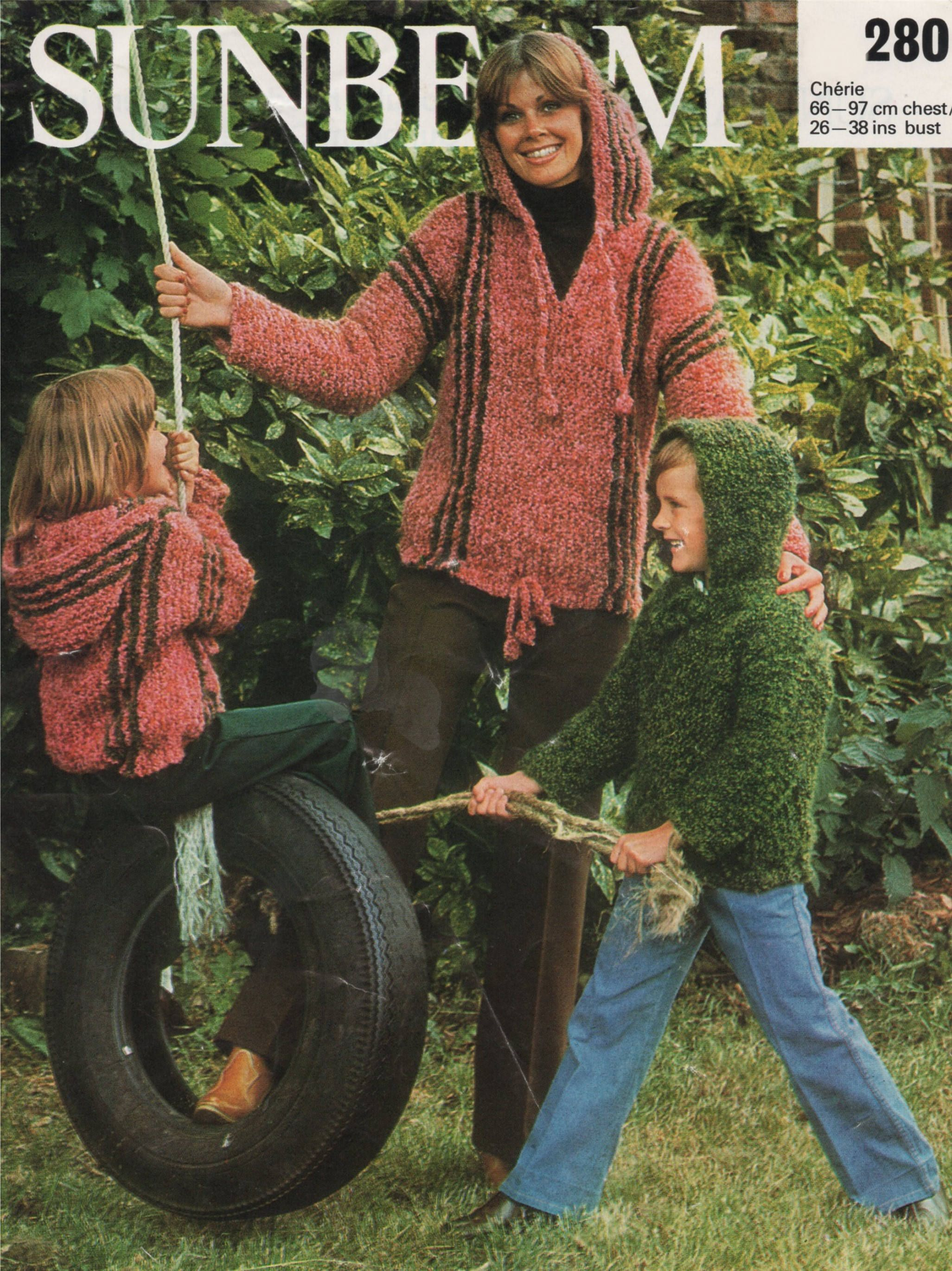 810f0461c9d9 Hoodie Sweater PDF Knitting Pattern   Womens and Childrens 26