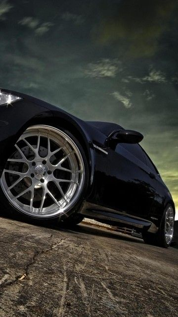 Bmw M3 360 Forged Rims Android Wallpaper Bmw Black Car Wallpaper Cool Car Pictures