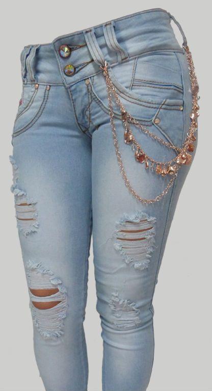 Jeans Rotos Para Dama 6 Jpg 416 767 Ropa Tumblr Ropa