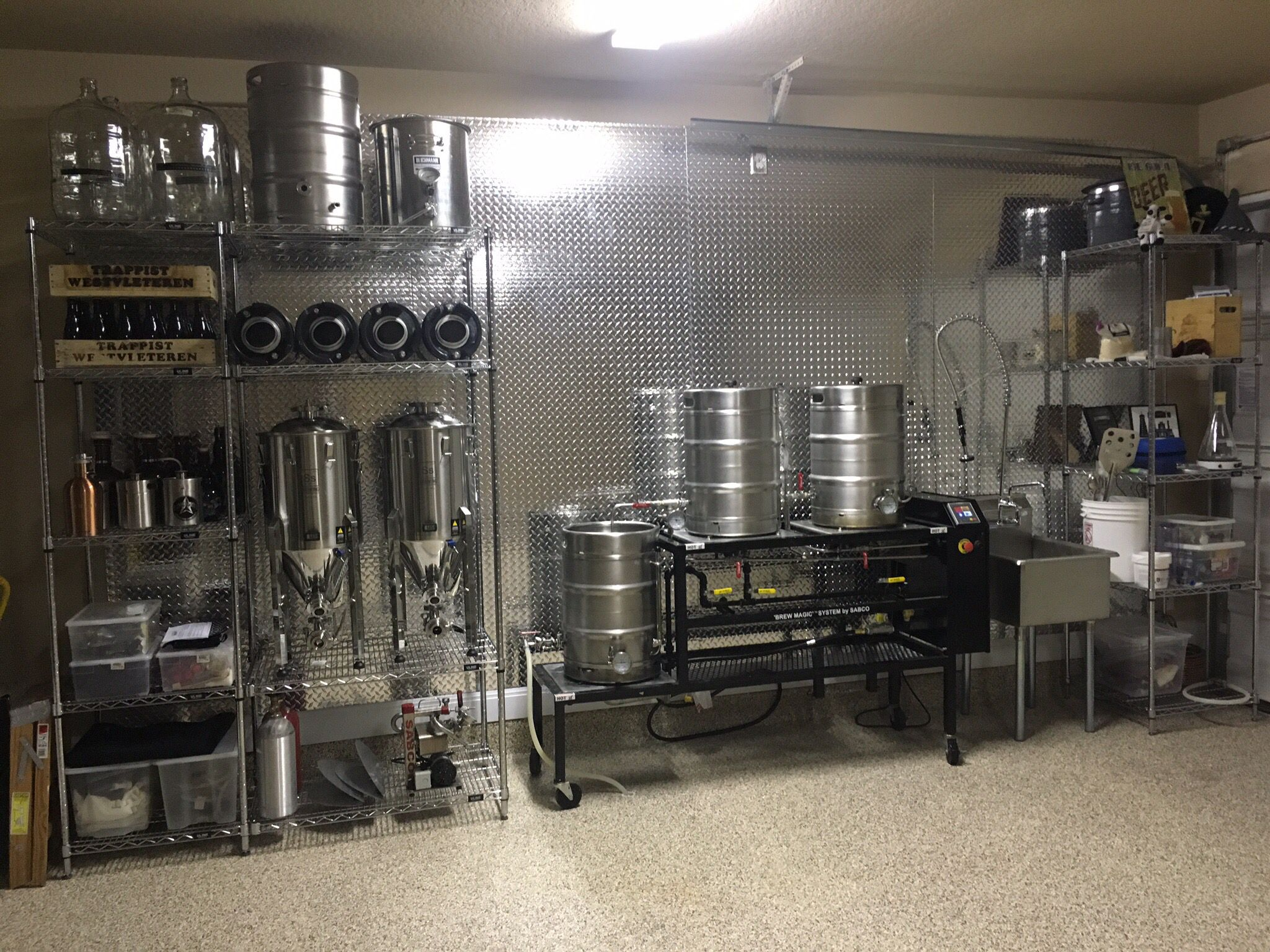 My new garage brewery in alamo ranch san antonio texas for Craft beer store san antonio