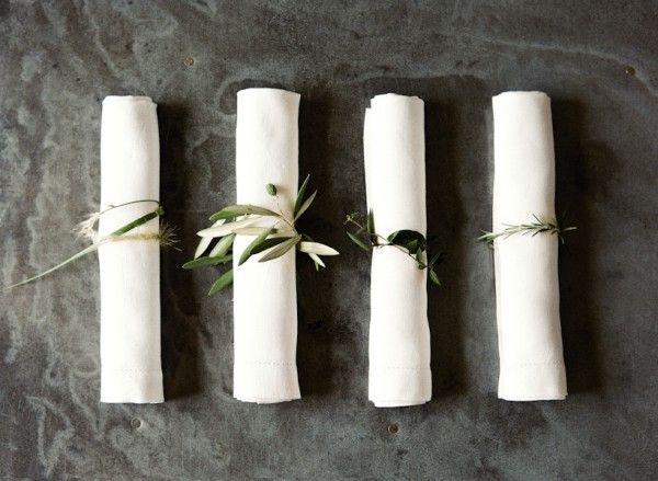 Diy Rustic Wedding Napkin Rings Once Wed