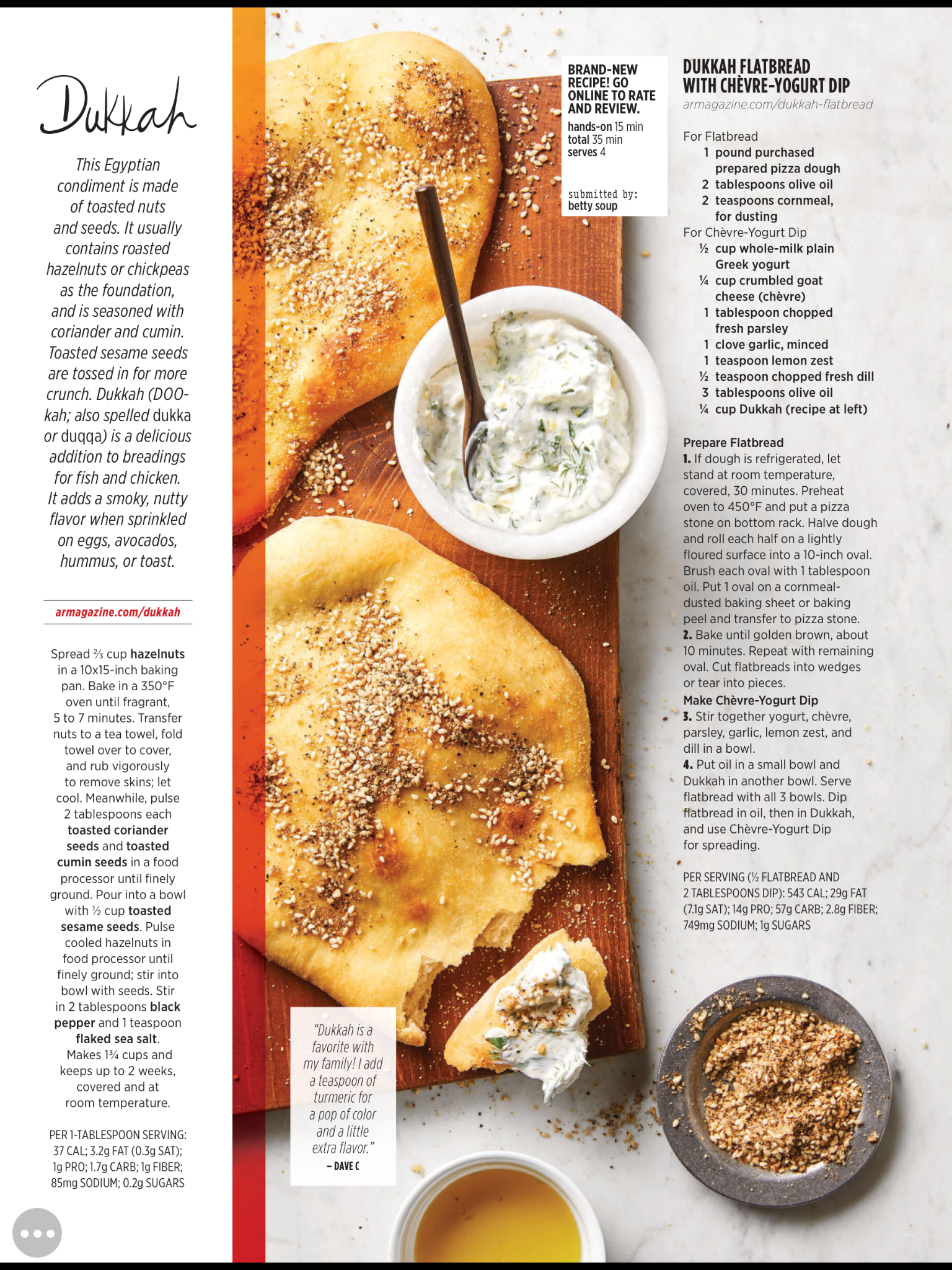 Sukkah Flatbread With Yogurt Dip Dukkah Recipe Persian Food Flatbread
