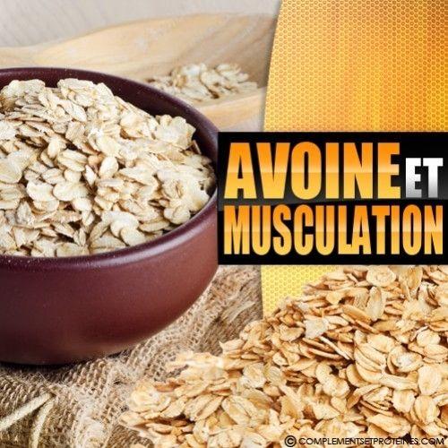 Flocons d'avoine musculation | Flocon avoine, Avoine