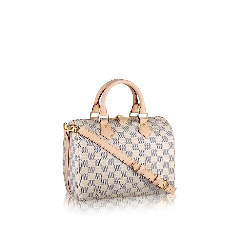 009646dcc4a7 Speedy Bandoulière 25 Damier Azur Canvas in Women s Handbags Top Handles  collections by Louis Vuitton  Louisvuittonhandbags