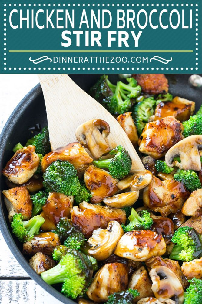 Photo of Chicken and Broccoli Stir Fry