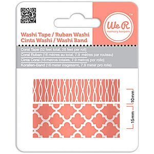 We R Memory Keepers Washi Tape - Coral