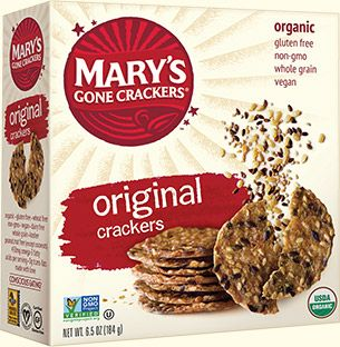 Mary S Gone Crackers Original Crackers Organic Recipes Benefits Of Organic Food Whole Food Recipes