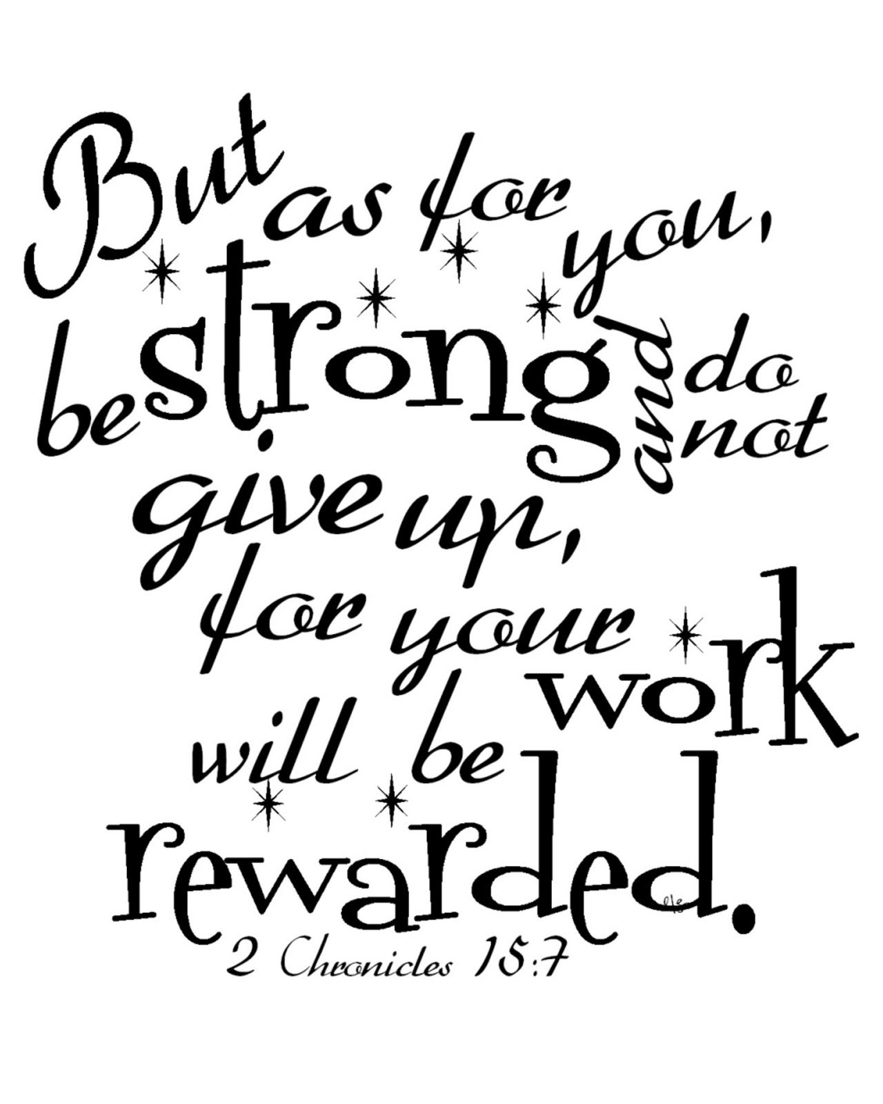Dee's Bugaboo Boutique: Ruby Tuesday Scripture ~ 2