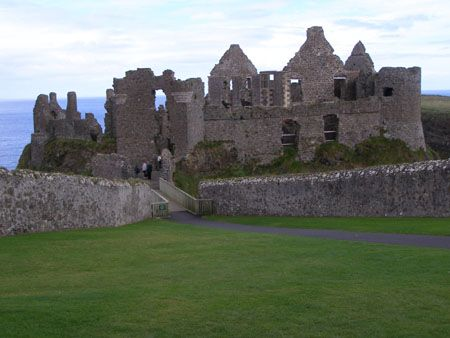 Dunluce Castle, County Antrim, Northern Ireland Photograph by Drever on IgoUgo.com