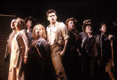 Original Broadway Cast of Urinetown The Musical — Photo by Joan Marcus
