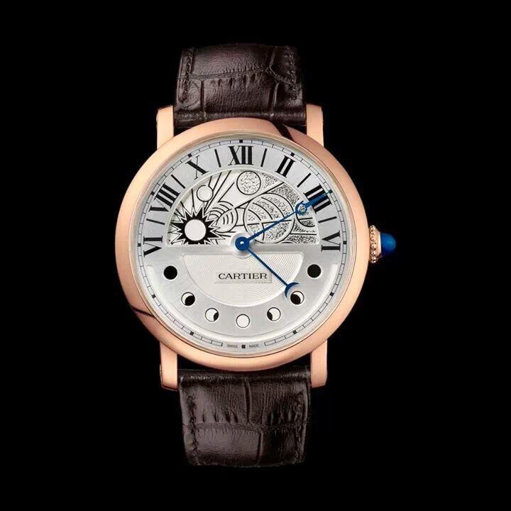 Cartier Cartier Leather Watch Tourbillon Watch