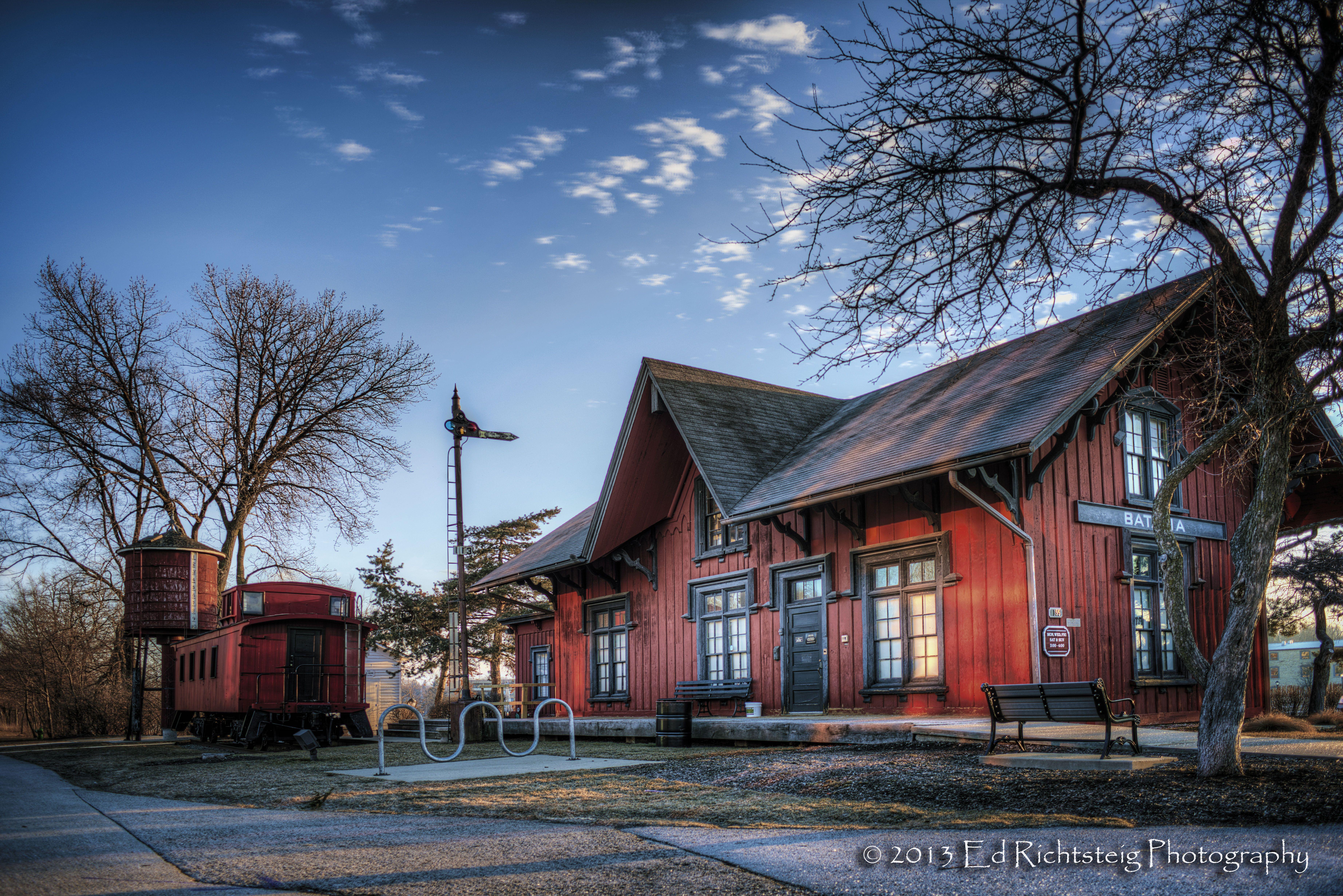 Depot museum batavia il batavia valley view views