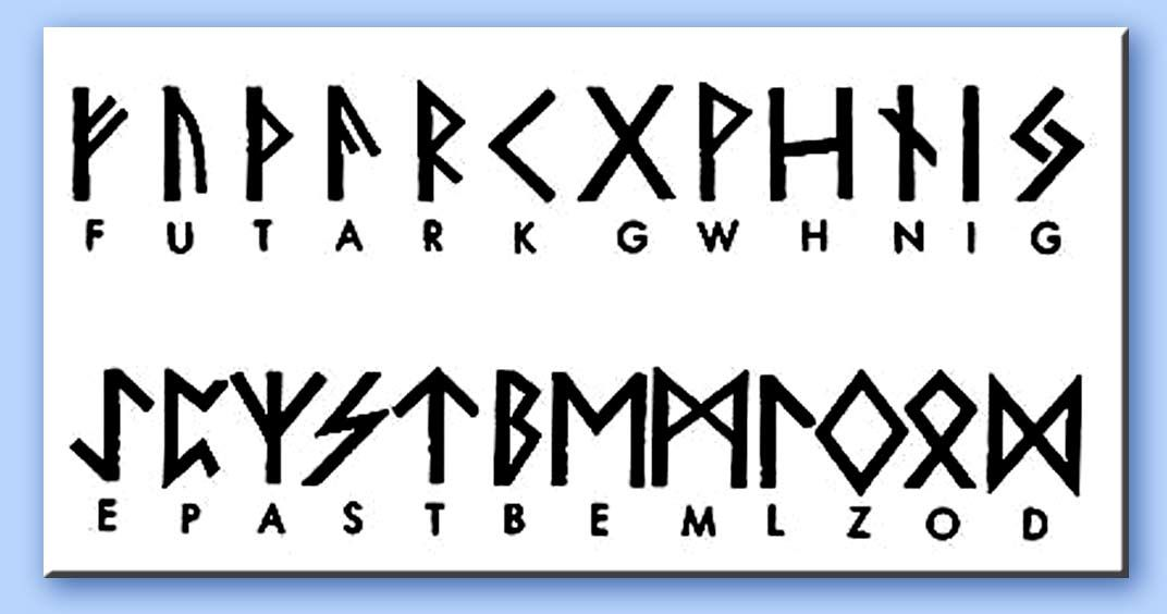 abecedario runico - Buscar con Google