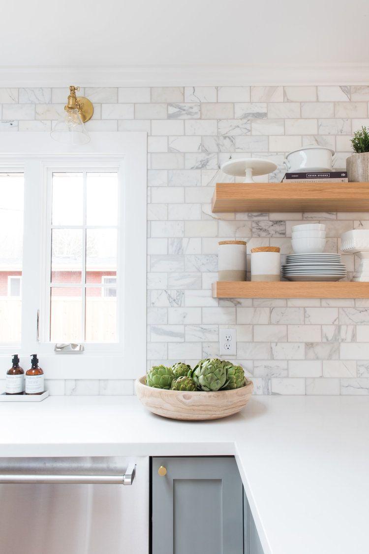 Our Favorite Alternatives To Traditional Subway Tile Kitchen Backsplash Designs Farmhouse Kitchen Backsplash Kitchen Inspirations