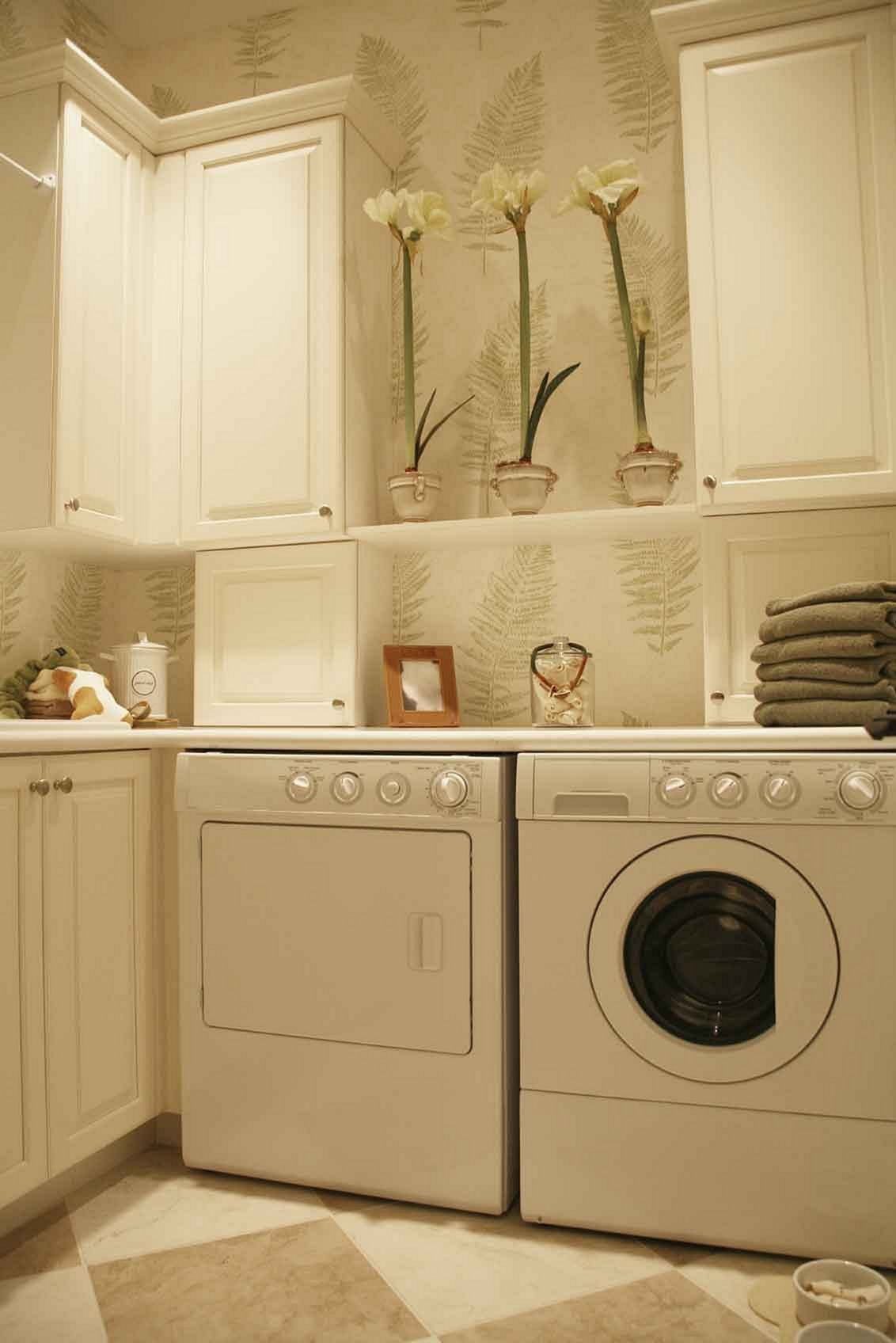 30+ Small Laundry Room Decorating Ideas To Inspire You | Small ...