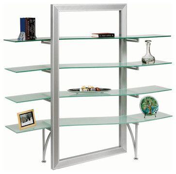 Dainolite Dbs 400 Gl Sv Elegant Free Standing Shelf Frosted
