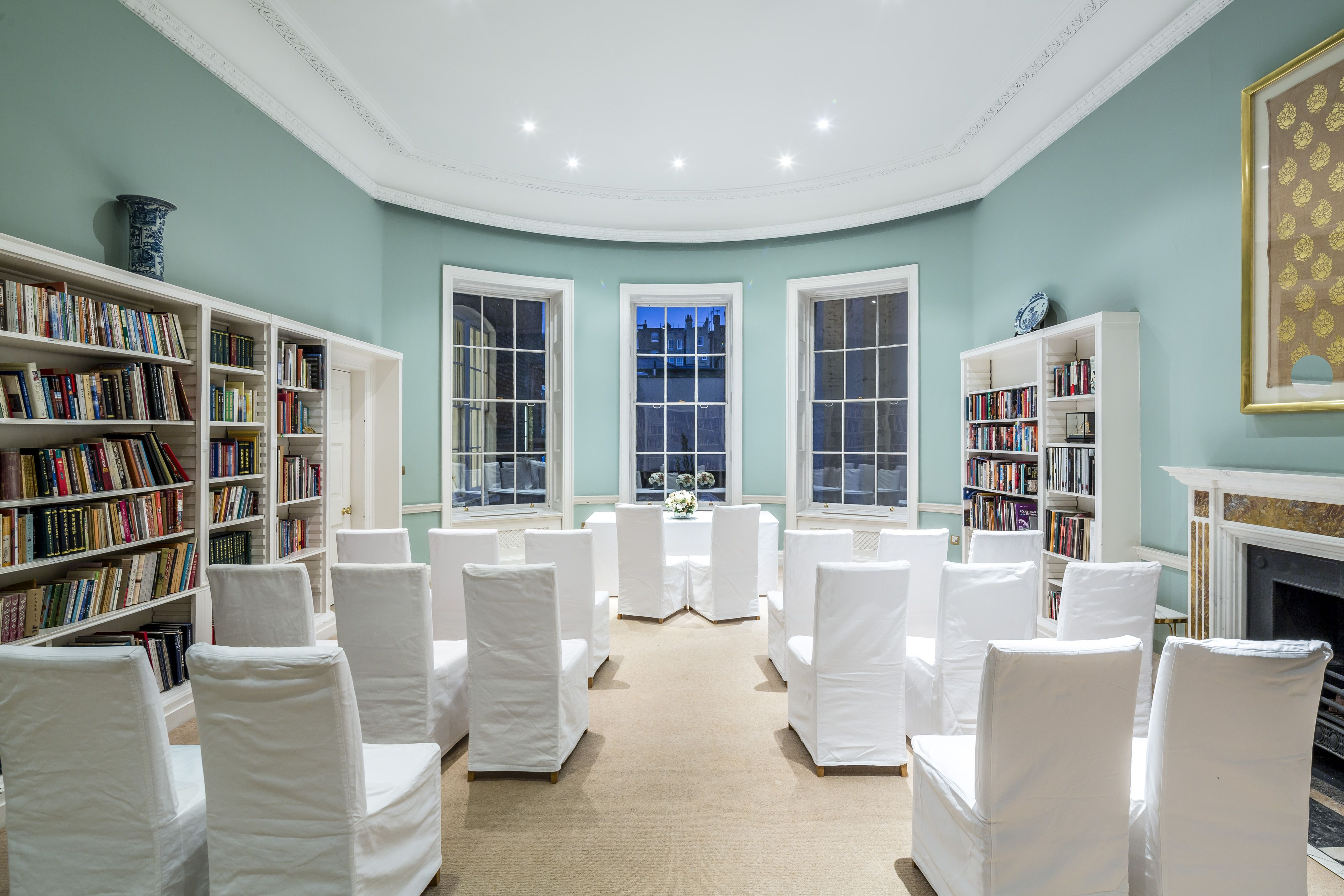 Sir Peter Wakefield Library Room At Asia House