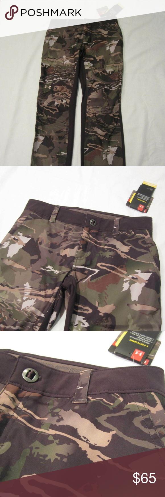 f3e011da93fbf Womens Size 8 Under Armour Camo Hunting Pants Womens Size 8 Under Armour  Early Season Forest Camo Hunting Pants NEW! NEW WITH TAGS!