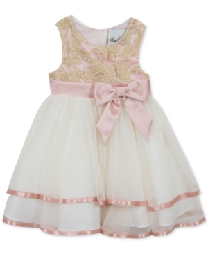 67d459f739596 Baby Girls Embroidered Dress | Products | Dresses, Mesh dress, Girls ...