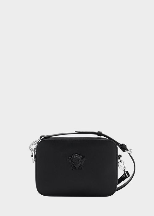 1b2181882018 Versace PALAZZO CALF LEATHER SHOULDER BAG | bags. | Bags, Leather ...