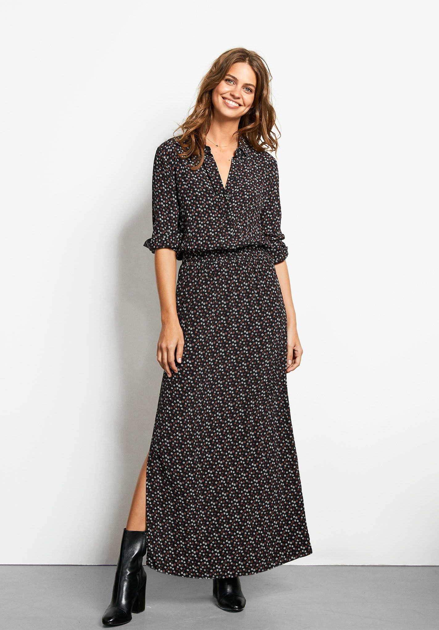 A beautiful, standout piece to inspire your wardrobe. This maxi ...